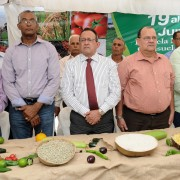 Agricultura inaugura Feria Agropecuaria  en la provincia San Juan