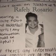Desaparecido en NJ merenguero Rafely, hijo de Rafa Rosario