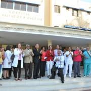 Servidores del IDSS inician paro de labores en demanda de pago de su regalía pascual