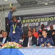 """Luisito Pié: """"Espero que lo disfruten los 10 millones de dominicanos por los cuales competí"""""""