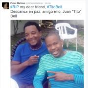 "Fallece ex pelotero de Grandes Ligas, Juan ""Tito"" Bell"
