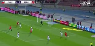 Con goles de Vidal, Chile se impuso ante Perú en el clásico