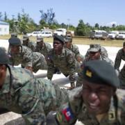 Haití activa su ejercito tras partida de cascos azules de la ONU