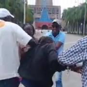 Haitianos invaden Basílica de Higuey. Riña de haitianas ilegales en Casa de la Virgen. centenares viven allí VÍDEO