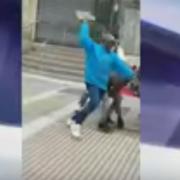 Haitianos inician batalla campal en calles de Chile, autoridades chilenas amenazan con deportaciones masiva hacia RD