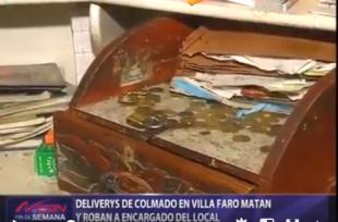 Dos Deliverys haitianos empleados de colmado matan y roban a su patrón dominicano en Villa Faro VIDEO
