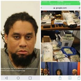 Arrestan banda de haitianos que traficaban grandes cantidades de drogas en EEUU, fiscales dicen que fue gran golpe