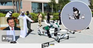 México usara motos voladoras como en Dubai para controlar el narco y la emigración ilegal VIDEO