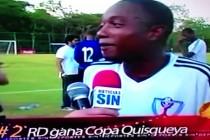 RD LE GANA HAITI 3-1 EN FÚTBOL. VIDEO