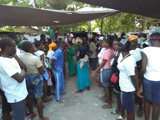 Asi bailaban los haitianos mientras celebraban su culto 5