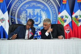 R. Dominicana sera la capital de Haití. Video