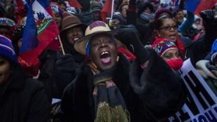 """Lucharemos por conseguir disculpas de Trump"" Dicen haitianos"