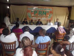 El Lic. Cesar Guillen, Presidente del Partido Rescate Nacional Truena en Contra de las Primarias Abiertas y la Nueva Relación  con China