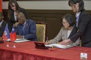 Haití firma acuerdo con Taiwan para su reconstrucción