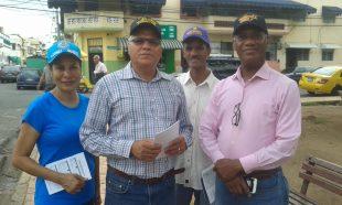Abogados con Leonel y UNADOCA realizan esfuerzo concentrado en la Ciudad Intramuros
