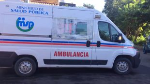 Roban ambulancia del 911 en Santiago VIDEO