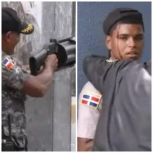 Enfrentamientos entre policias y manifestantes, agentes de PN heridos VIDEO