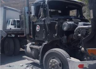 Haitianos atacan y saquean carga 60 camiones RD