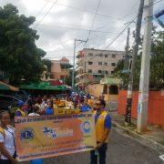 Club de Leones realiza marcha y caminata en concienciación de la diabetes en Ensanche Espaillat