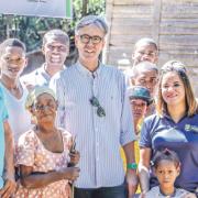 Cooperación Alemana en  República Dominicana  y Nature Power Foundation llevan energía renovable al sur del país